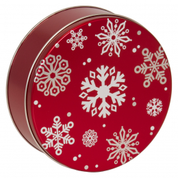 Red w/ Snowflakes 5C