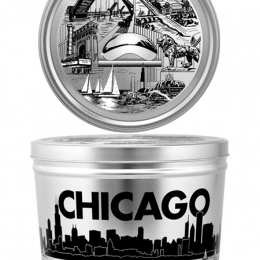 Chicago Tin 2 Gallon Popcorn Tin **Available for Next Day Shipping**