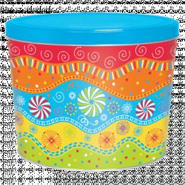 Panache 2 Gallon Popcorn Tin
